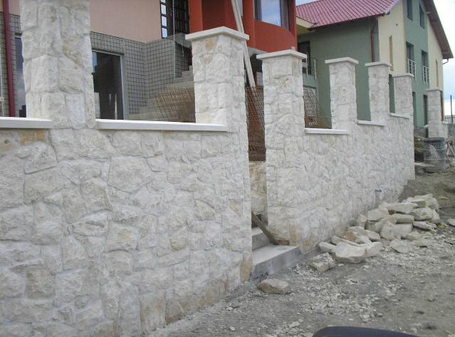 Garduri din piatra naturala de Vistea LEVENTE COMPANIE - Poza 6