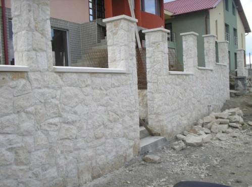 Lucrari de referinta Garduri din piatra naturala de Vistea LEVENTE COMPANIE - Poza 6