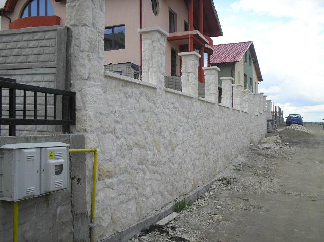 Garduri din piatra naturala de Vistea LEVENTE COMPANIE - Poza 7