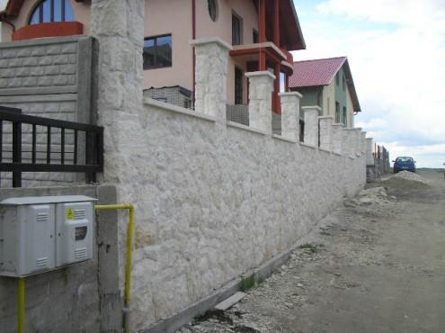 Lucrari, proiecte Constructii garduri din piatra naturala de Vistea LEVENTE COMPANIE - Poza 7