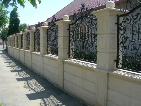 Lucrari de referinta Garduri din piatra naturala de Vistea LEVENTE COMPANIE - Poza 10