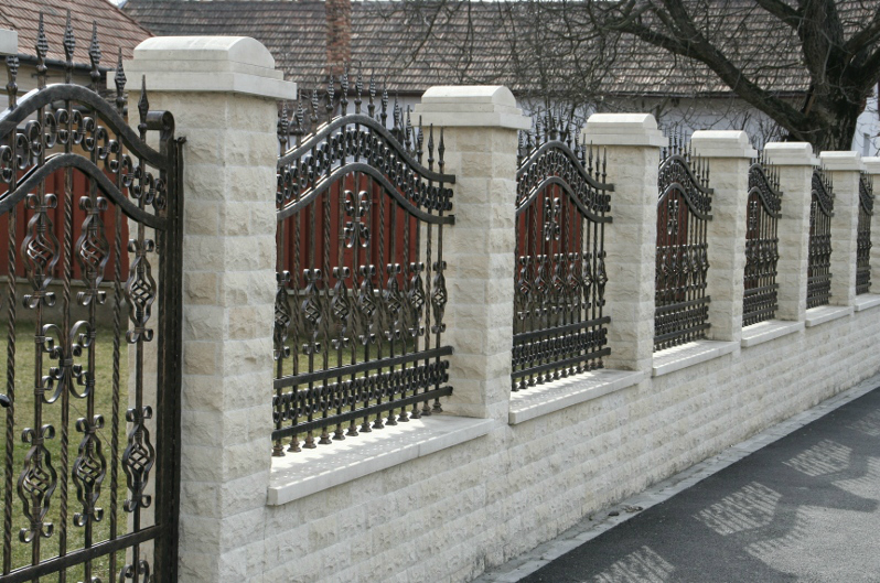 Garduri din piatra naturala de Vistea LEVENTE COMPANIE - Poza 14