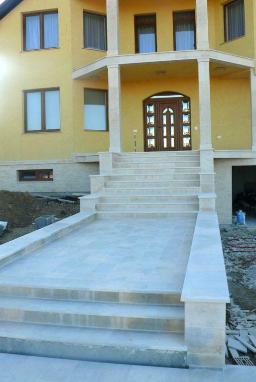 Trepte/Placaje din piatra naturala de Vistea LEVENTE COMPANIE - Poza 5