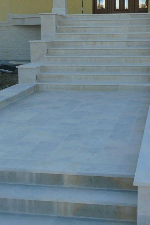 Trepte/Placaje din piatra naturala de Vistea LEVENTE COMPANIE - Poza 14
