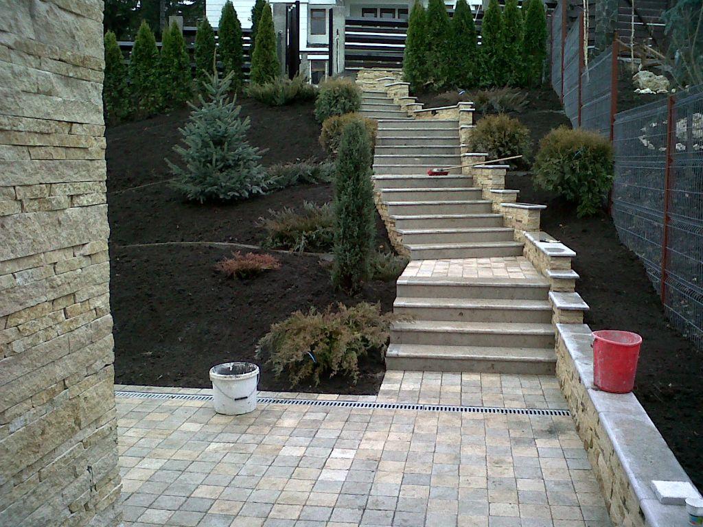 Trepte/Placaje din piatra naturala de Vistea LEVENTE COMPANIE - Poza 18