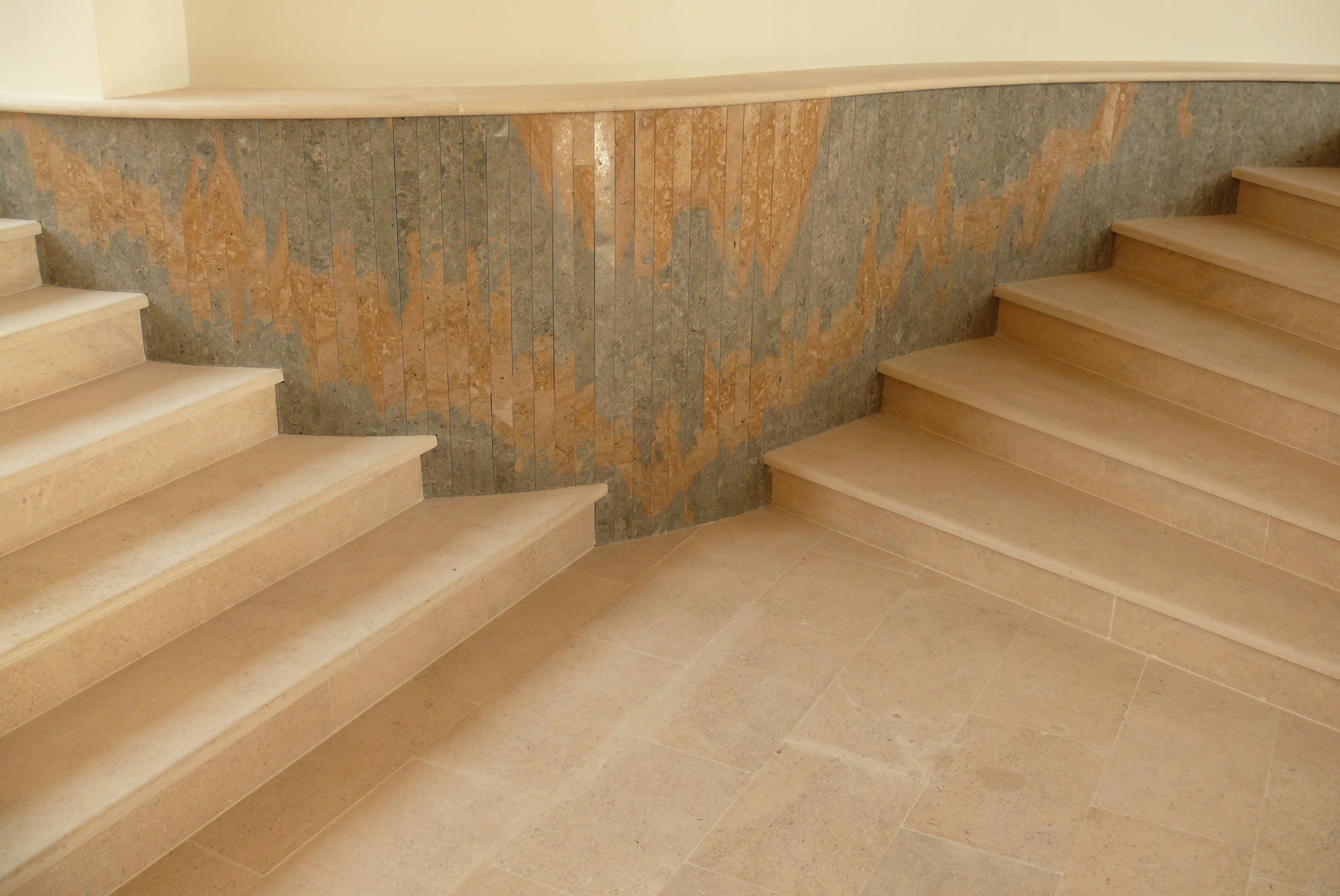 Trepte/Placaje din piatra naturala de Vistea LEVENTE COMPANIE - Poza 23