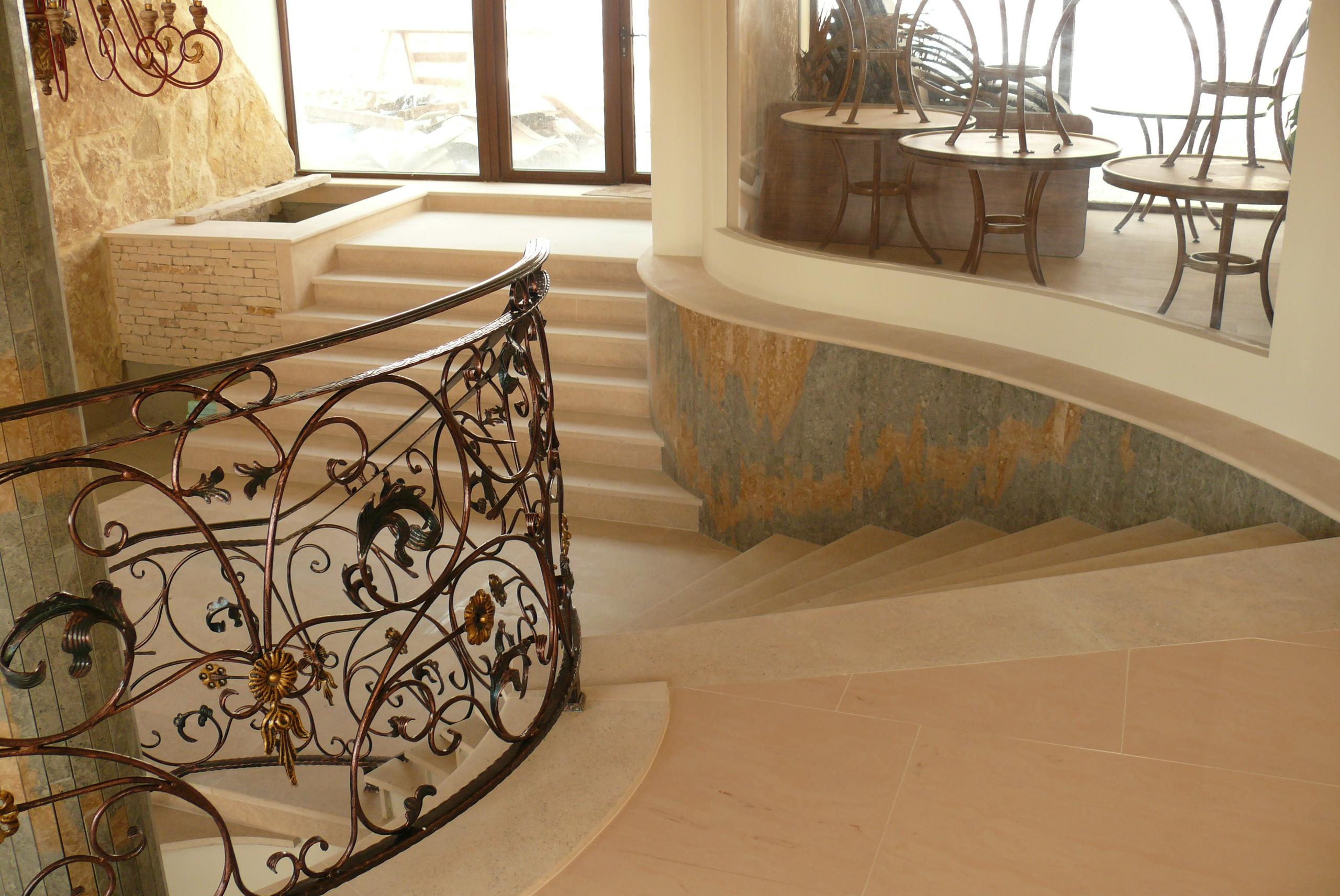 Trepte/Placaje din piatra naturala de Vistea LEVENTE COMPANIE - Poza 28
