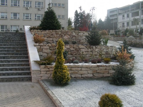 Lucrari, proiecte Amenajari gradini cu piatra naturala de Vistea LEVENTE COMPANIE - Poza 4