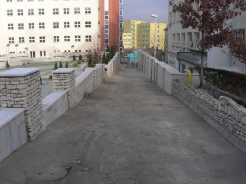 Lucrari, proiecte Amenajari gradini cu piatra naturala de Vistea LEVENTE COMPANIE - Poza 13