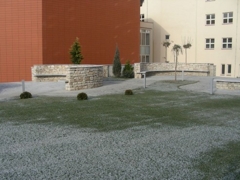 Lucrari, proiecte Amenajari gradini cu piatra naturala de Vistea LEVENTE COMPANIE - Poza 18