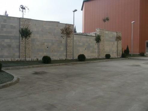 Lucrari, proiecte Amenajari gradini cu piatra naturala de Vistea LEVENTE COMPANIE - Poza 25