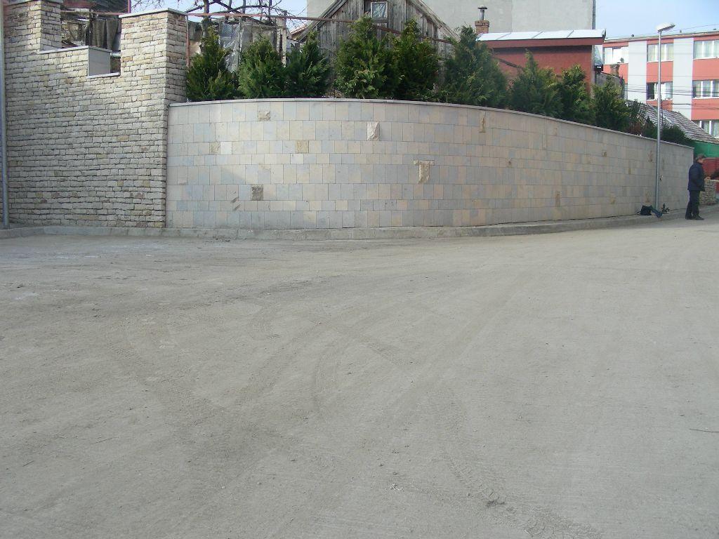 Amenajari gradini din piatra naturala de Vistea LEVENTE COMPANIE - Poza 29