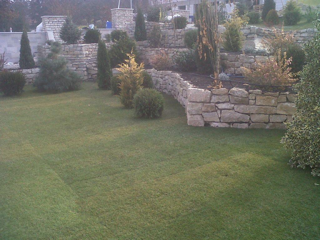 Amenajari gradini cu piatra naturala de Vistea LEVENTE COMPANIE - Poza 31