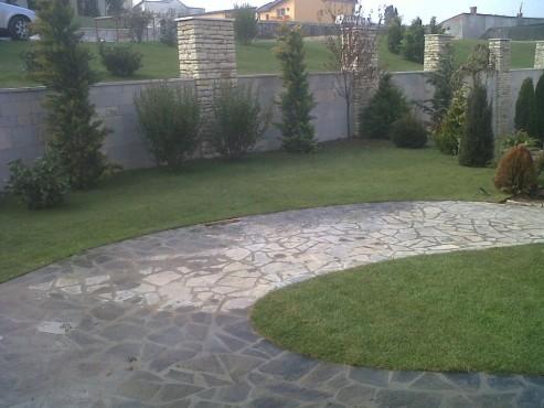 Lucrari, proiecte Amenajari gradini cu piatra naturala de Vistea LEVENTE COMPANIE - Poza 32