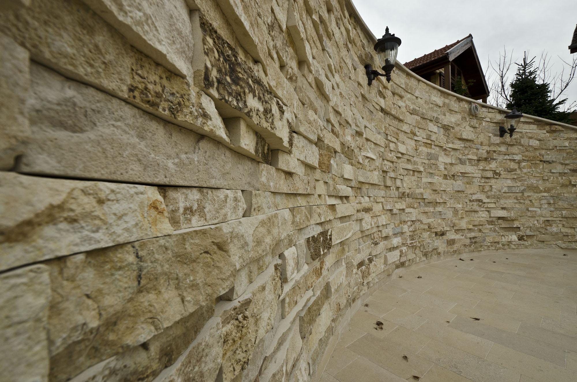 Trepte/Placaje din piatra naturala de Vistea LEVENTE COMPANIE - Poza 34
