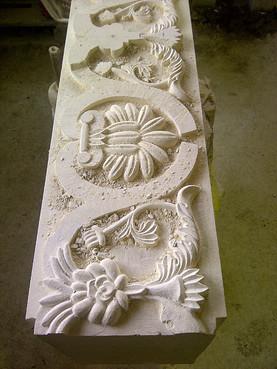 Lucrari de referinta Sculptura in piatra LEVENTE COMPANIE - Poza 2