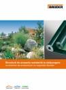 Structura de acoperis rezistenta la strapungere cu sisteme de acoperisuri cu vegetatie
