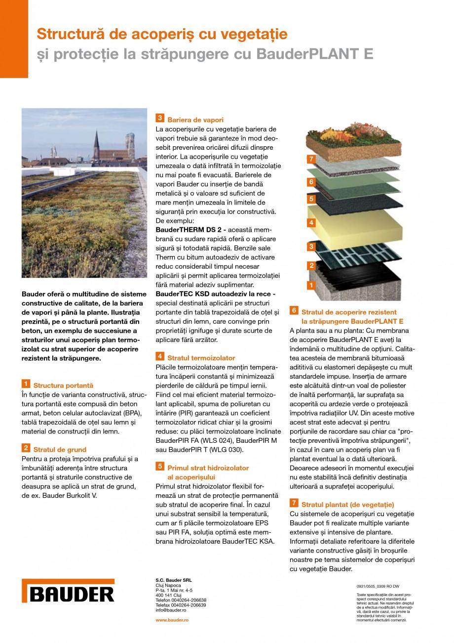 Pagina 2 - Structura de acoperis rezistenta la strapungere cu sisteme de acoperisuri cu vegetatie...