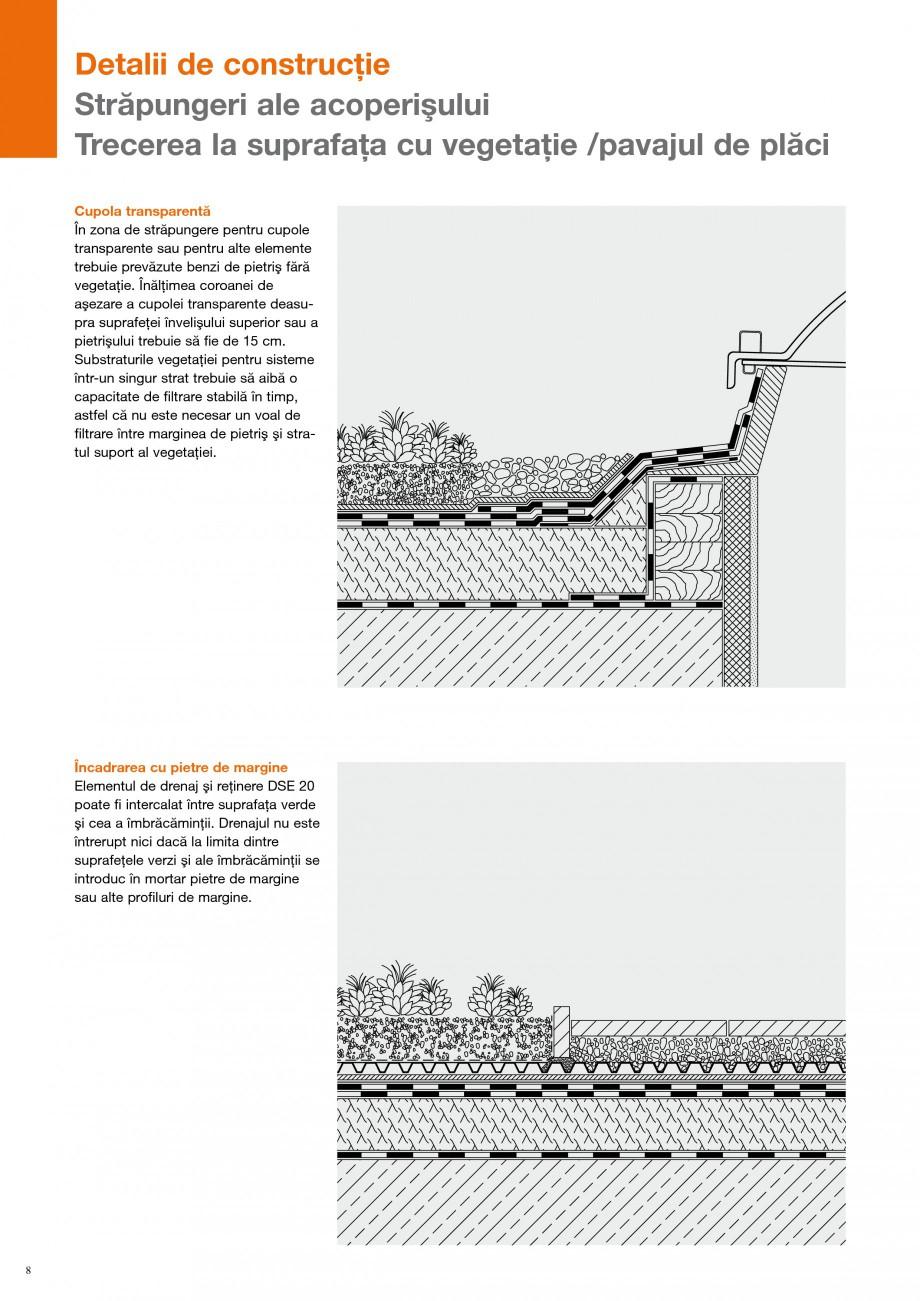 Pagina 7 - Detalii de constructie BAUDER Fisa tehnica Romana Joncţiunea prezentată schematic ...