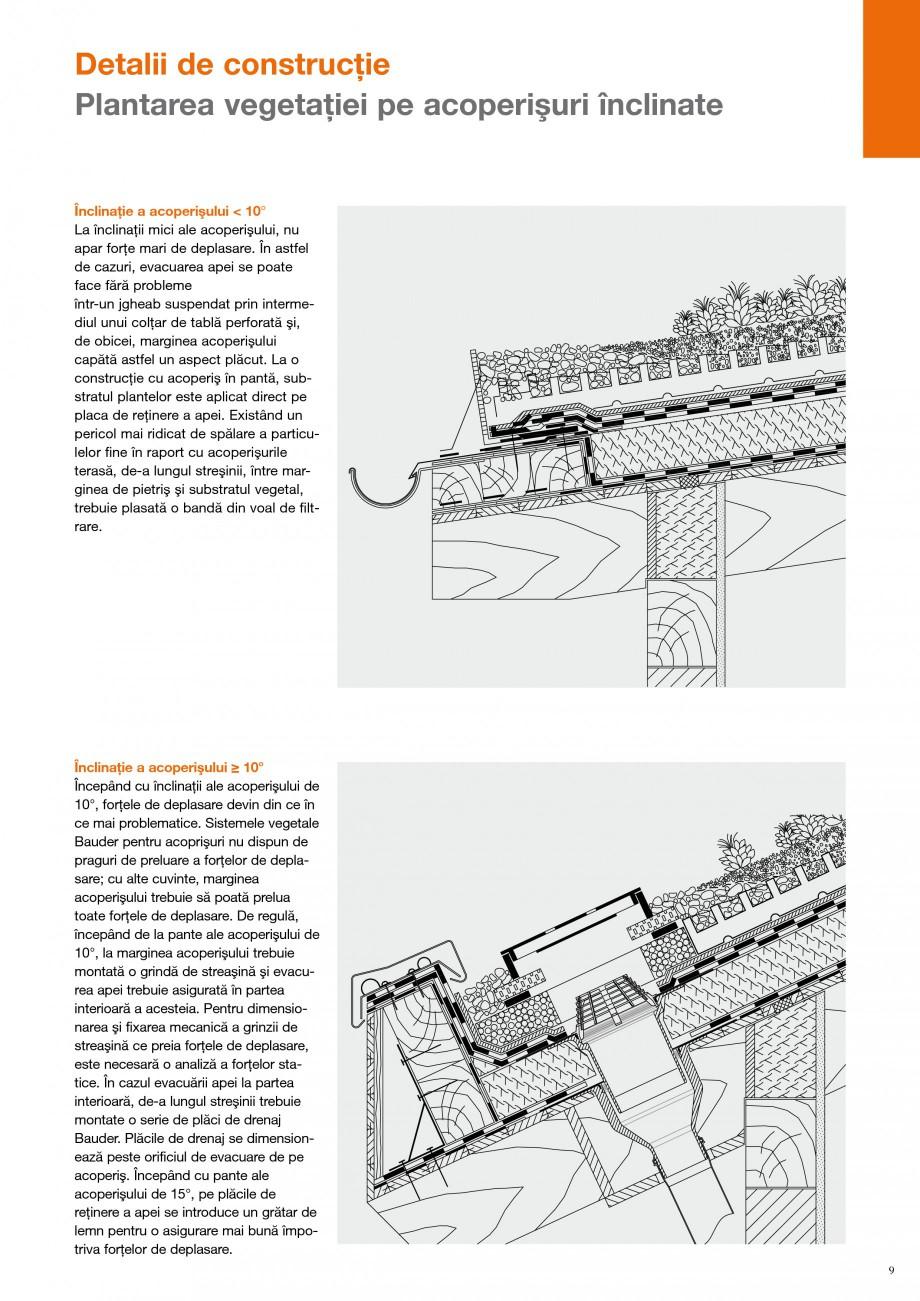 Pagina 8 - Detalii de constructie BAUDER Fisa tehnica Romana ul substratului şi din cel al...