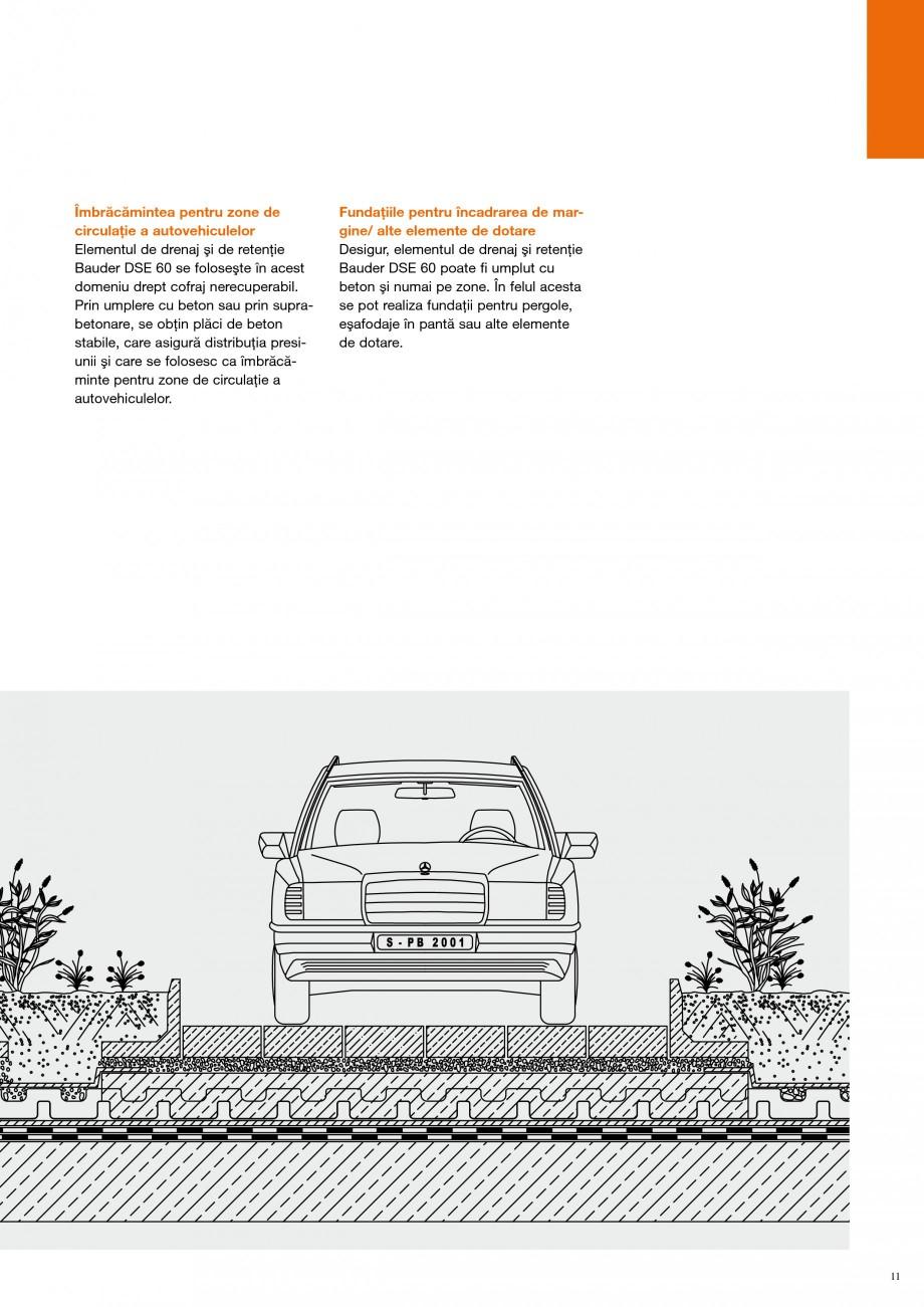 Pagina 10 - Detalii de constructie BAUDER Fisa tehnica Romana stratul suport al vegetaţiei. ...