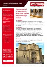 Sisteme de degivrare - Catedral Santo Domingo Spain WARMUP