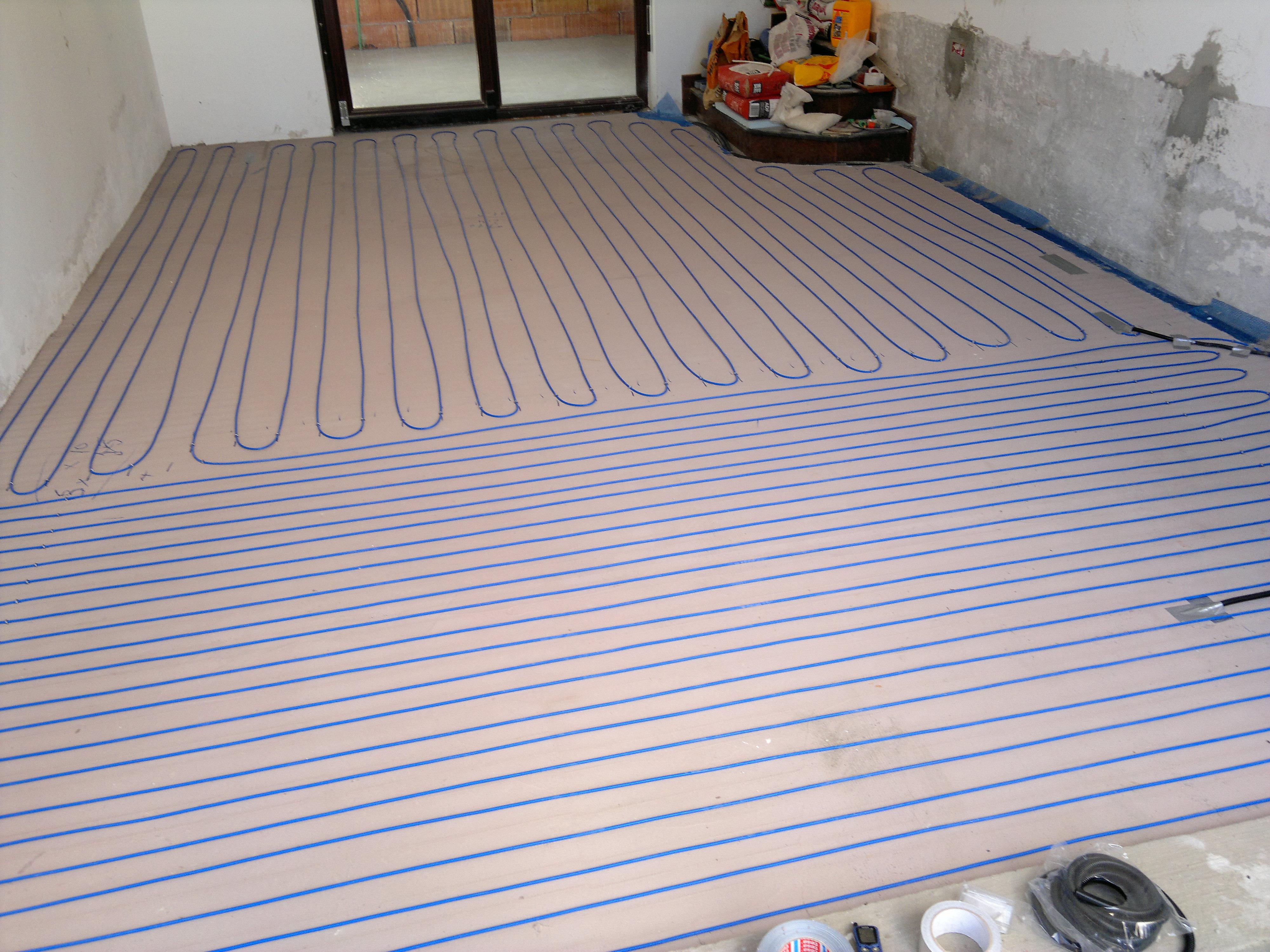 Incalzire cu cabluri in sape - Branesti WARMUP - Poza 1