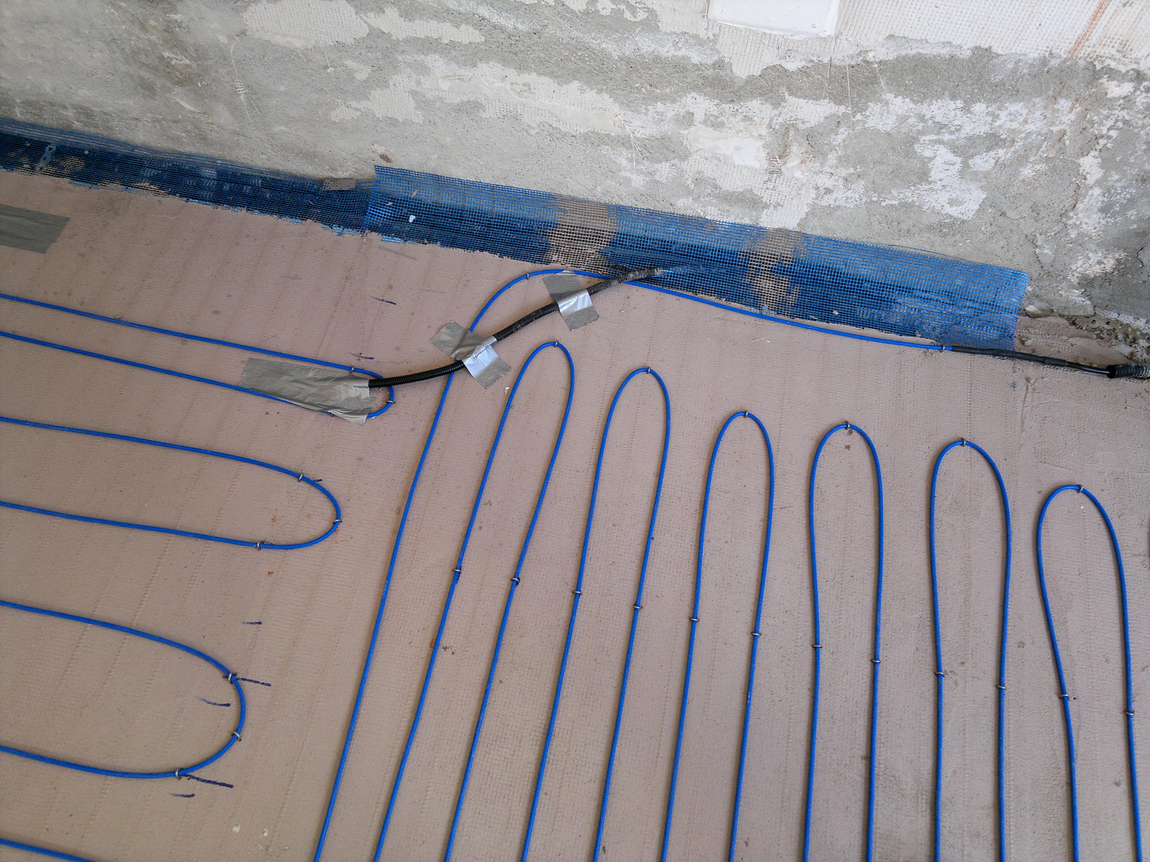 Incalzire cu cabluri in sape - Branesti WARMUP - Poza 3