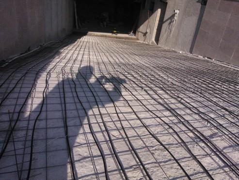 Degivrare cu cabluri in sape - Rampa Hotel Palas International Iasi WARMUP - Poza 1