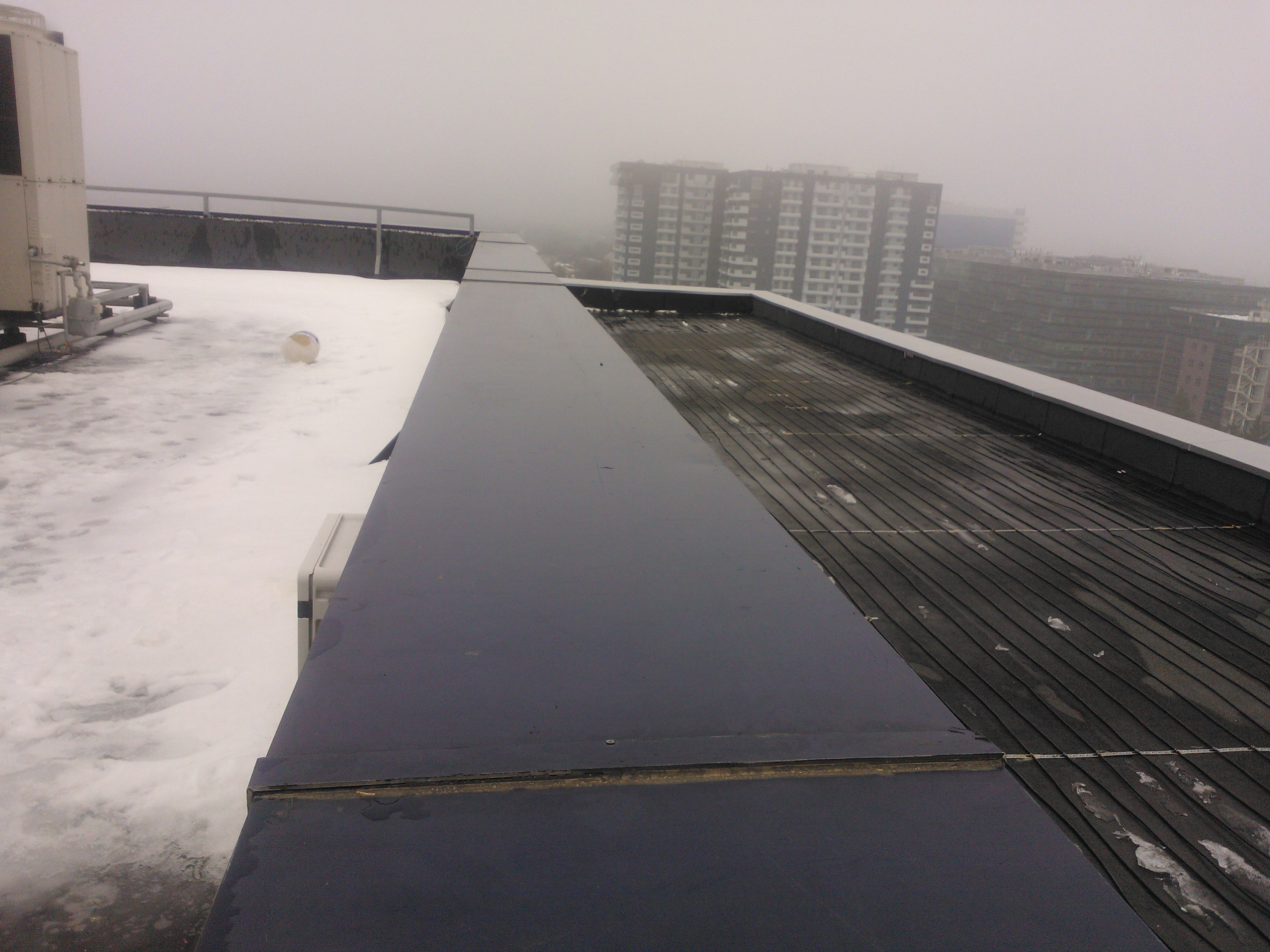 Degivrare terasa necirculabila - Petrom Pipera WARMUP - Poza 1