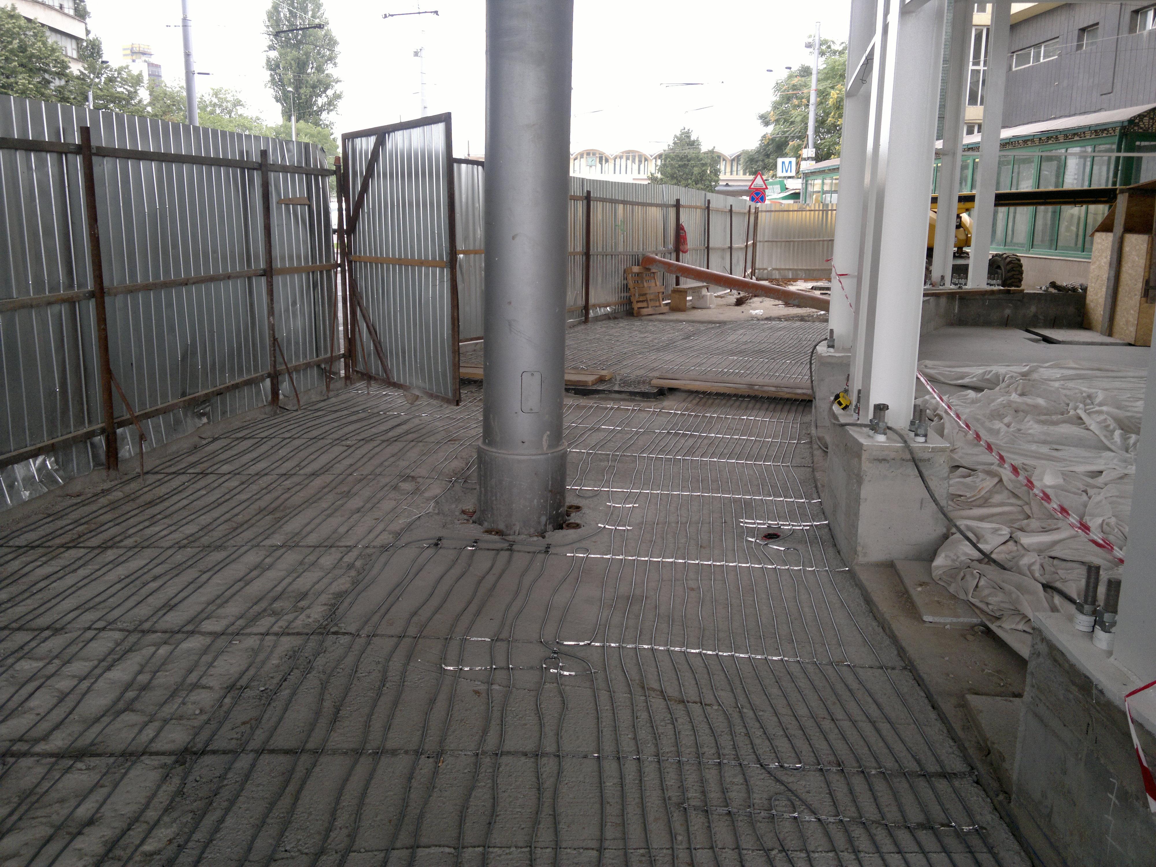 Degivrare cu cabluri in sape - Pasaj Basarab-Dinicu Golescu WARMUP - Poza 17