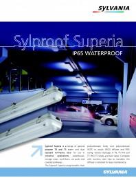Corpuri de iluminat rezistente la apa si praf Sylproof Superia