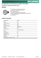 Bec reflector LED dimabil 0026361 SYLVANIA