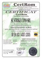 Ceritficare SR EN ISO 14001 2005 - Sistem de Management de Mediu