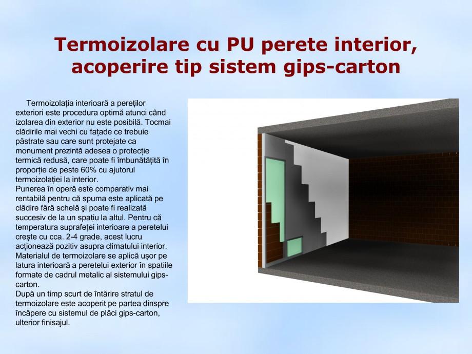 Pagina 1 - Termoizolare cu PU perete interior, acoperire tip sistem gips carton STRIKE CONS Fisa...