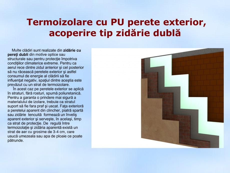Pagina 1 - Termoizolare cu PU perete exterior, acoperire tip zidarie dubla STRIKE CONS Fisa tehnica ...