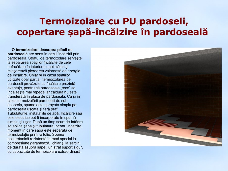 Pagina 1 - Termoizolare cu PU pardoseli copertare sapa-incalzire in pardoseala STRIKE CONS Fisa...