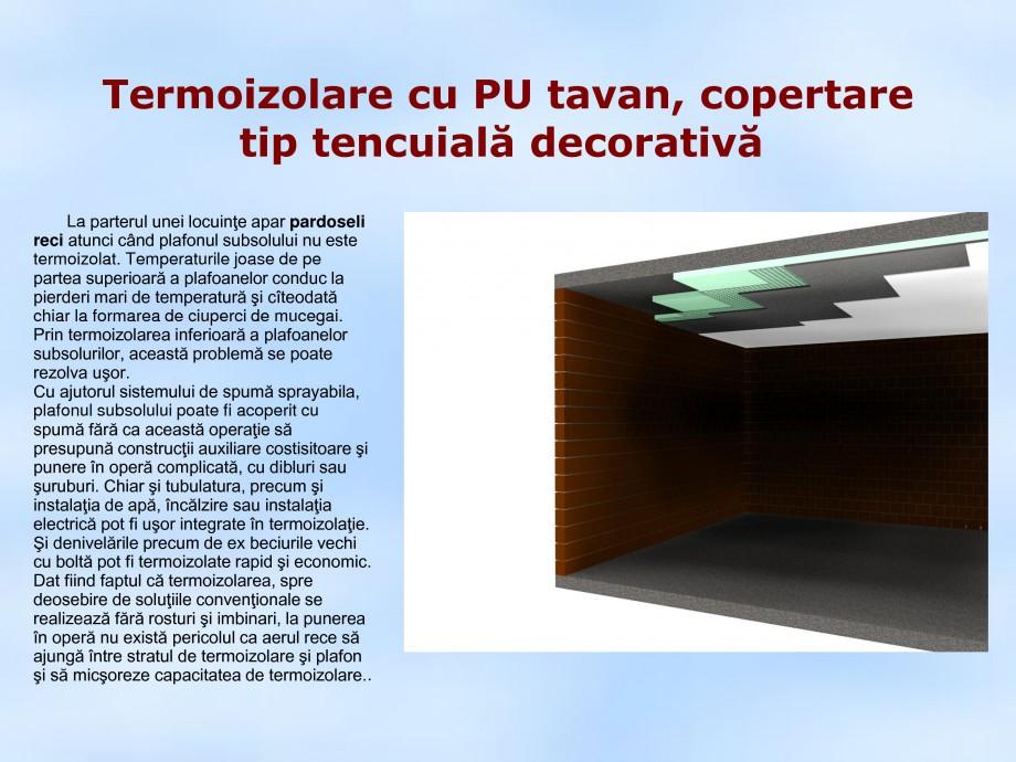 Pagina 1 - Termoizolare cu PU tavan, copertare tip tencuiala decorativa STRIKE CONS Fisa tehnica...