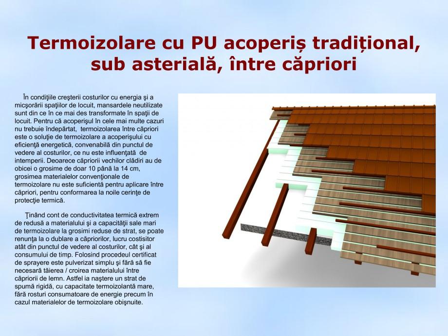Pagina 1 - Termoizolare cu PU acoperis traditional, sub asteriala, intre capriori STRIKE CONS Fisa...