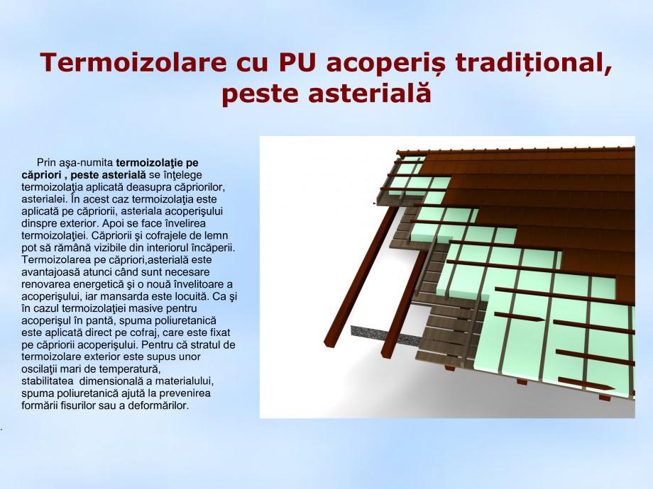 Pagina 1 - Termoizolare cu PU acoperis traditional, peste asteriala STRIKE CONS Fisa tehnica Romana ...