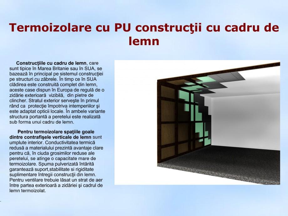 Pagina 1 - Termoizolare cu PU constructii cu cadru de lemn STRIKE CONS Fisa tehnica Romana...