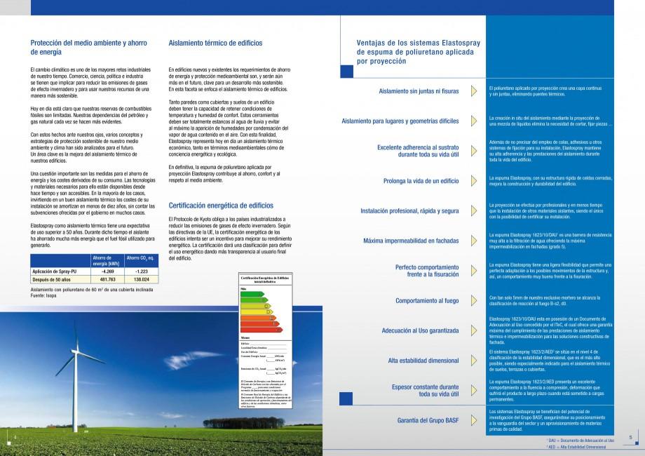 Pagina 3 - Termoizolatii poliuretan STRIKE CONS Fisa tehnica Spaniola anos tiene numerosos proyectos...