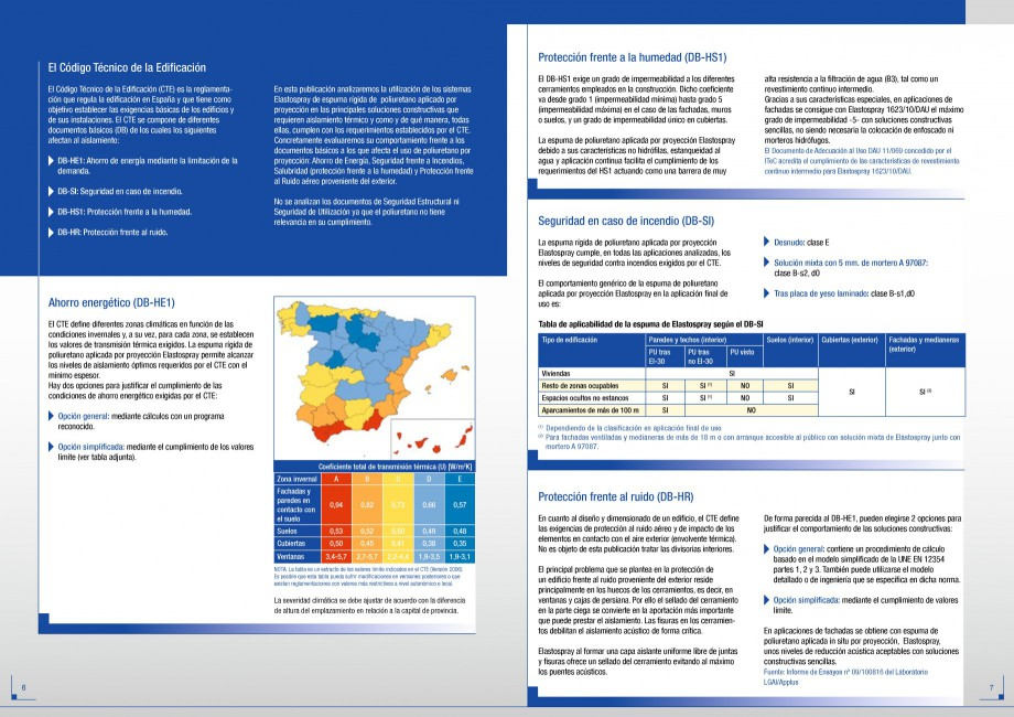 Pagina 4 - Termoizolatii poliuretan STRIKE CONS Fisa tehnica Spaniola ubre todo tipo de...