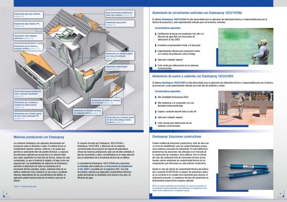 Pagina 5 - Termoizolatii poliuretan STRIKE CONS Fisa tehnica Spaniola po y son accesibles. En la...