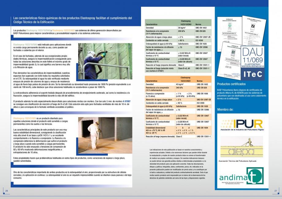 Pagina 14 - Termoizolatii poliuretan STRIKE CONS Fisa tehnica Spaniola dianeras de más de 18 m o...