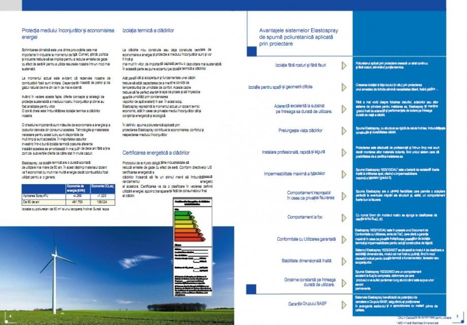Pagina 3 - Calitatea in izolatii - Elastospray  STRIKE CONS Fisa tehnica Romana ase proiecte în...