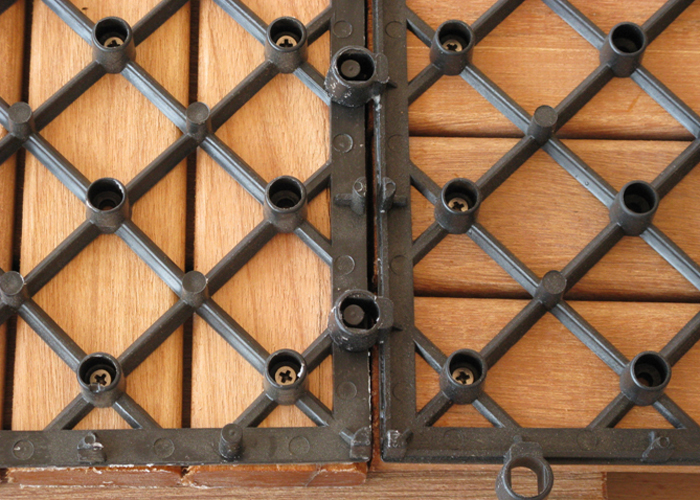 Dale de exterior din lemn de bangkirai WELDE - Poza 1