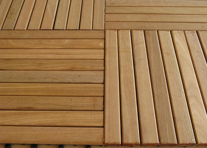 Dale de exterior din lemn de bangkirai WELDE - Poza 2