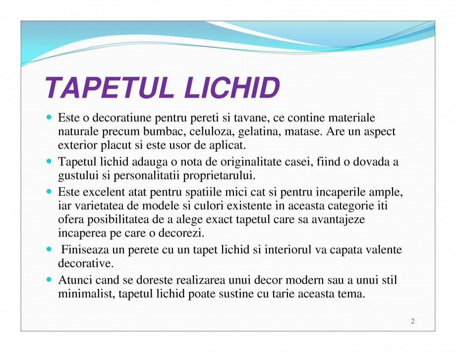 Pagina 2 - Tencuiala decorativa din bumbac EUROMATT EUROMATT Catalog, brosura Romana tinci).  3 ...