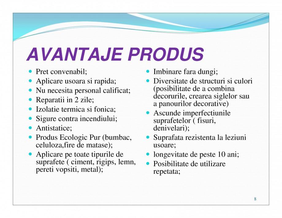 Pagina 8 - Tencuiala decorativa din bumbac EUROMATT EUROMATT Catalog, brosura Romana
